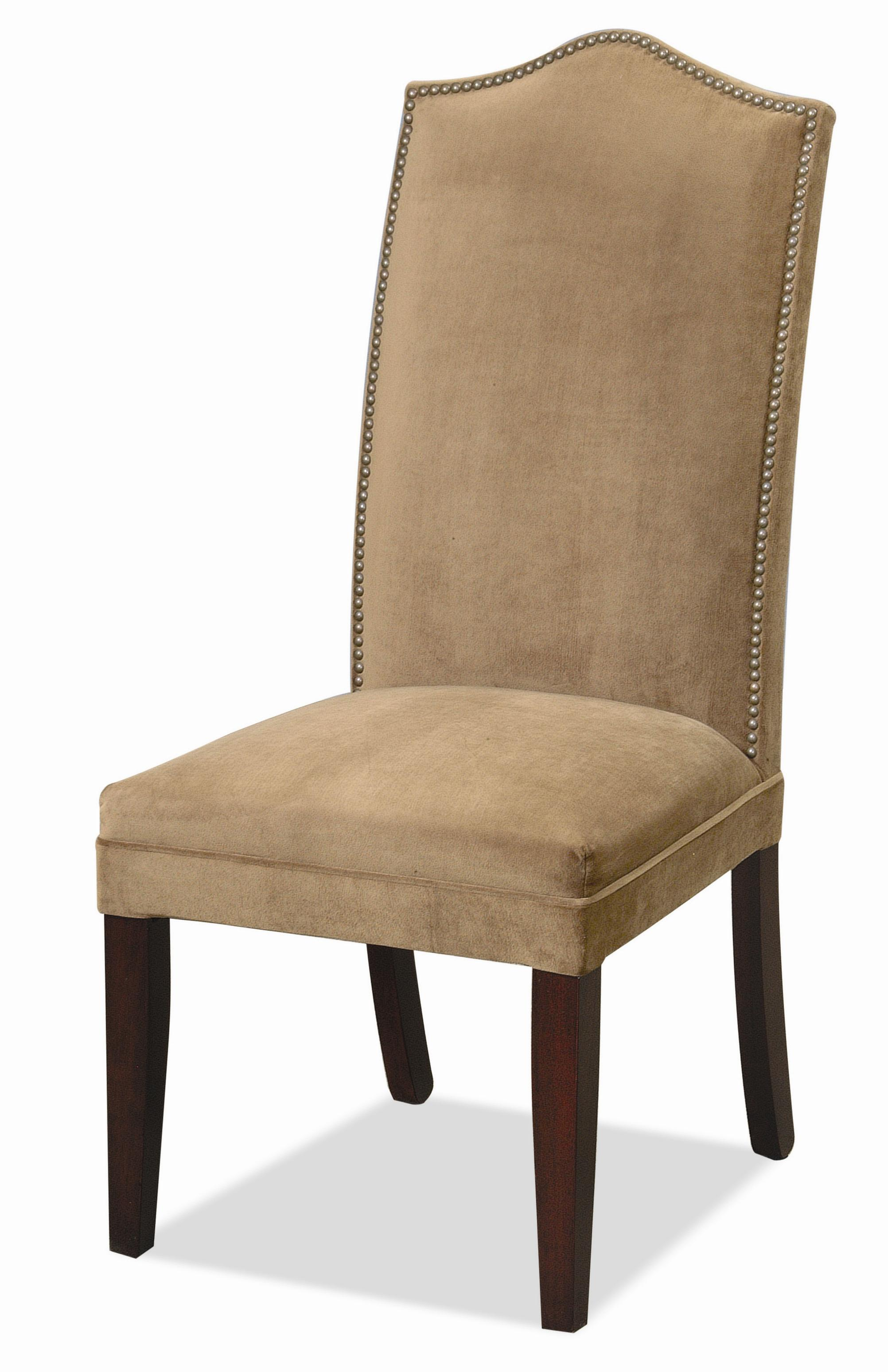 Dining Side Chair With Nail Trim By CMI