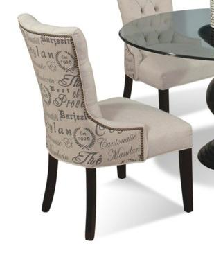 Upholstered Dining Side Chair with Nailhead Trim by CMI | Wolf and ...