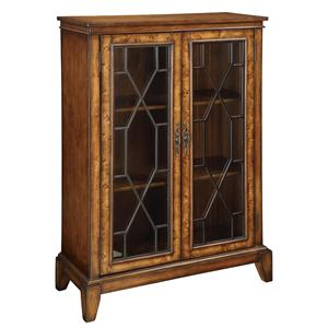 Coast to Coast Imports Accents by Andy Stein 2 Door Bookcase