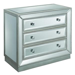 Coast to Coast Imports Accents by Andy Stein Three Drawer Chest