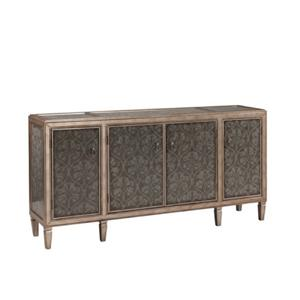 Coast to Coast Imports Coast to Coast Accents 4 Door Media Credenza