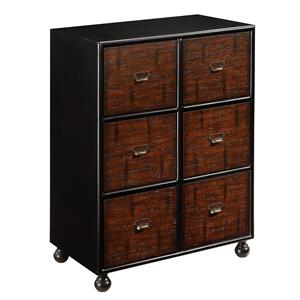 Coast to Coast Imports Coast to Coast Accents Six Drawer Cabinet