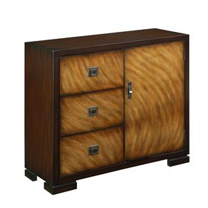 Coast to Coast Imports Coast to Coast Accents Three Drawer One Door Cabinet