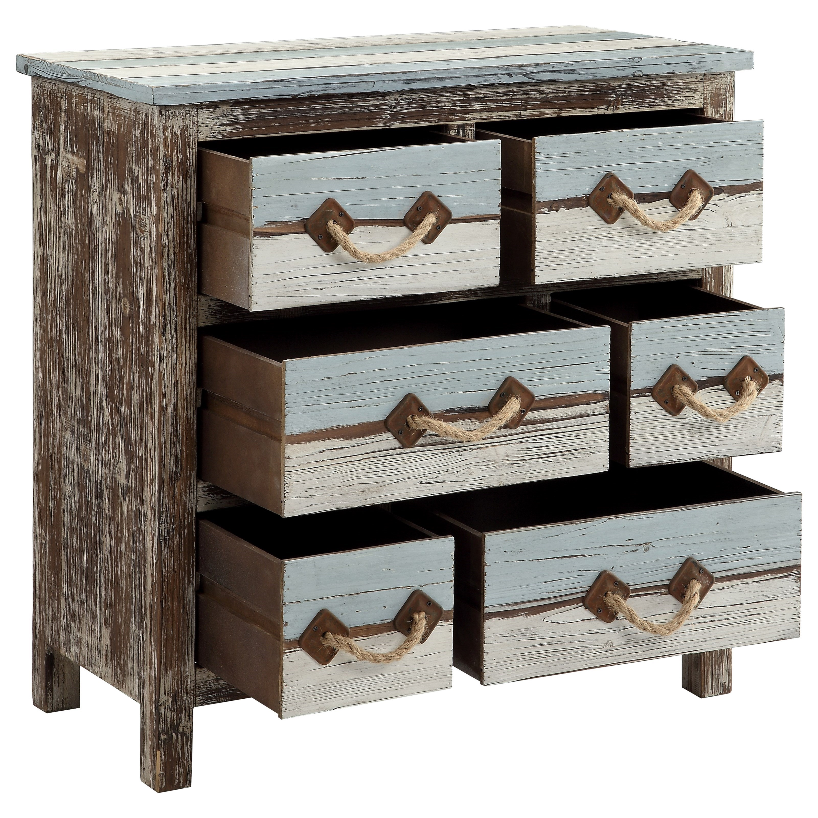 Furniture Imports: Six Drawer Chest By Coast To Coast Imports