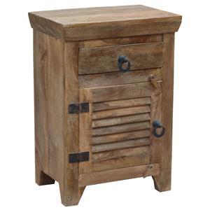 Coast to Coast Imports Jadu Accents One Door One Drawer Cabinet