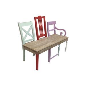 Coast to Coast Imports Jadu Accents Three Chair Back Bench