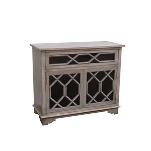 Coast to Coast Imports Jadu Accents One Drawer Two Door Cabinet