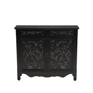 Morris Home Furnishings Romania Romania  2 Drawer Sideboard with Cabinet