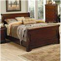 Coaster Versailles King Sleigh Bed - Item Number: 201481KE