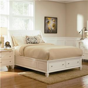 Coaster Sandy Beach Queen Sleigh Bed
