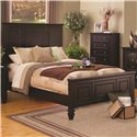 Queen Headboard & Footboard Bed