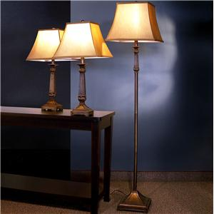 Coaster 3 Pack Lamp Sets 3 Piece Lamp Set