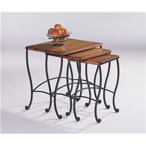 Coaster 5423 3 Piece Nesting Table Set