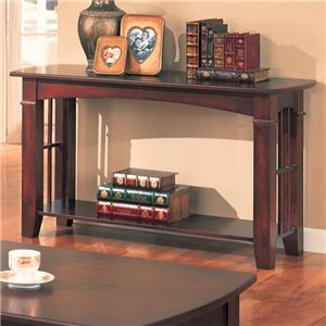 Sofa Table with Shelf