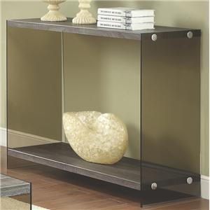 Console Table w/ Glass Sides