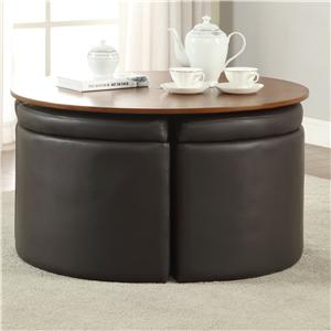 Coaster 70324 Coffee Table Set