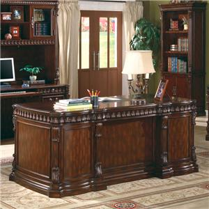 Coaster Union Hill Desk