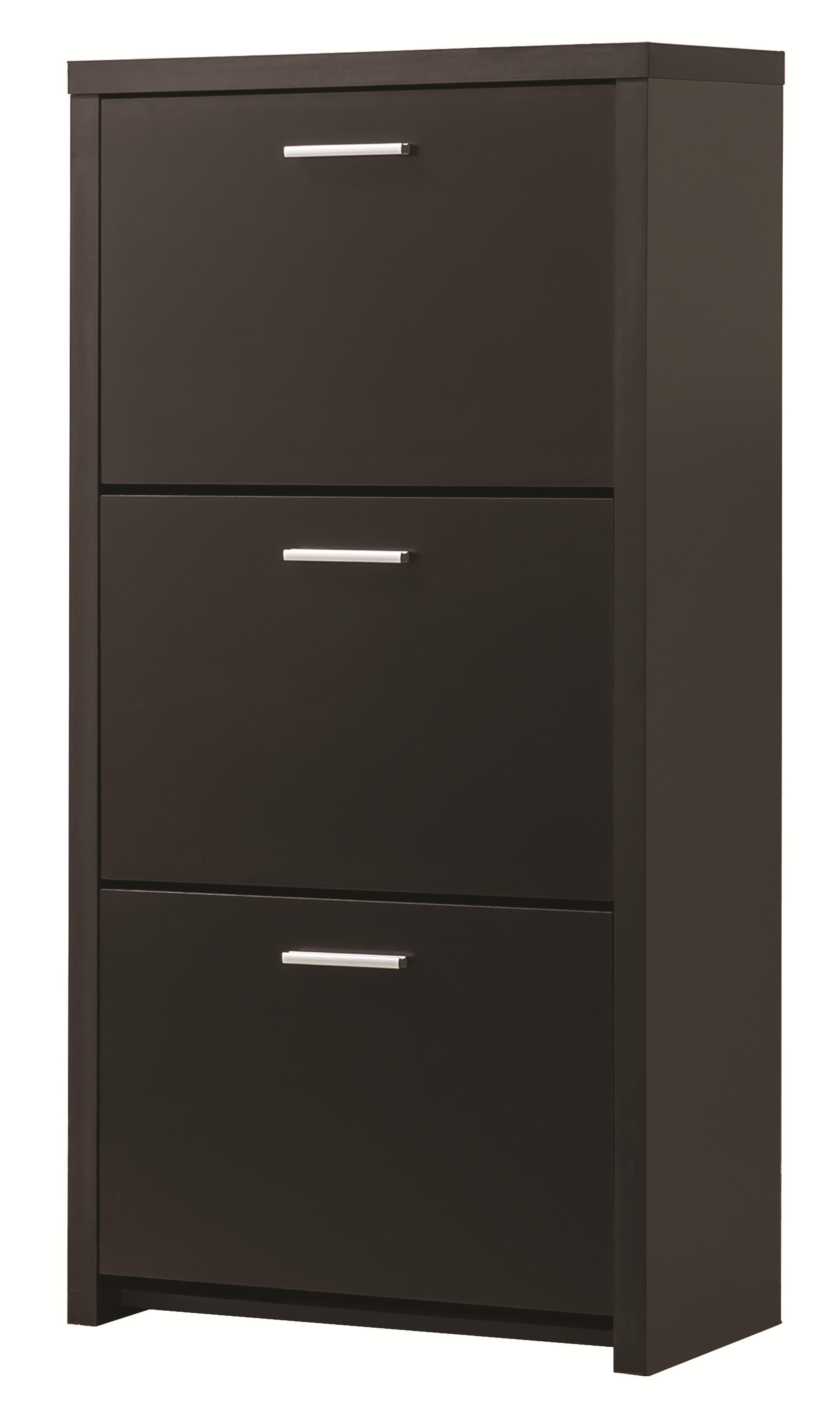 Tall 3-Drawer Shoe Cabinet
