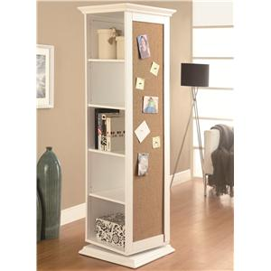 Coaster Accent Cabinets Swivel Storage Cabinet