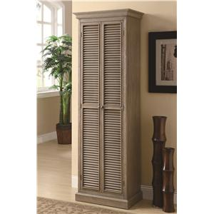 Coaster Accent Cabinets Tall Storage Cabinet