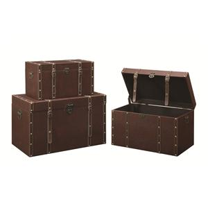 Coaster Accent Cabinets Storage Trunk (L)