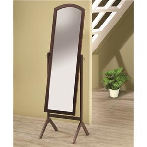 Coaster Accent Mirrors Cheval Mirror