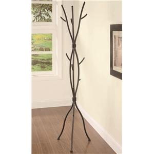 Branch Style Metal Coat Rack