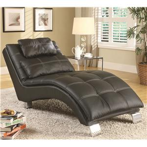 Coaster Accent Seating Chaise