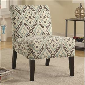 Accent Seating Chair with Casual Style