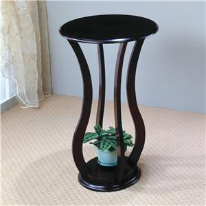 Round Plant Stand Table