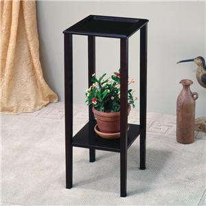 Plant Stand with Bottom Shelf