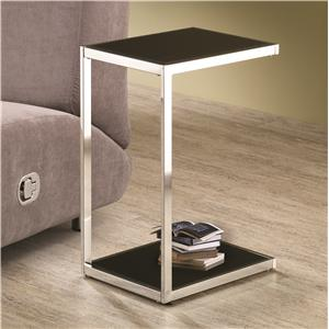 Coaster Accent Tables Reversible Snack Table