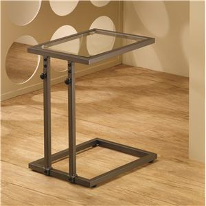Coaster Accent Tables Adjustable Snack Table