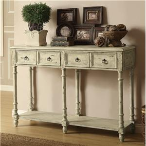 Coaster Accent Tables Vintage Console Table