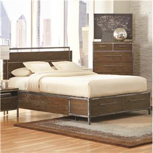 Coaster Arcadia 20380 King Platform Bed