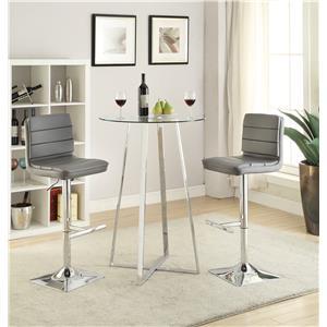 Coaster Bar Units and Bar Tables Bar Height Dining Set