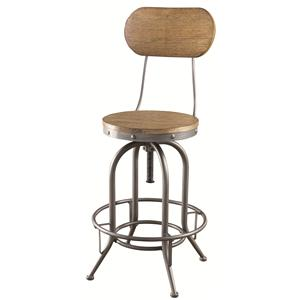 Coaster Bar Units and Bar Tables Adjustable Bar Stool