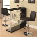 Coaster Bar Units and Bar Tables Bar Unit - Item Number: 100165