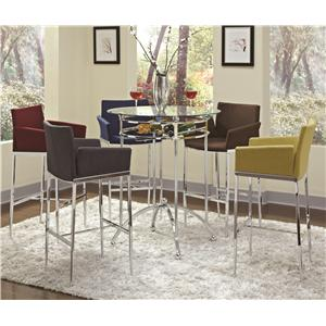 Coaster Bar Units and Bar Tables 6 Piece Bar Table Set