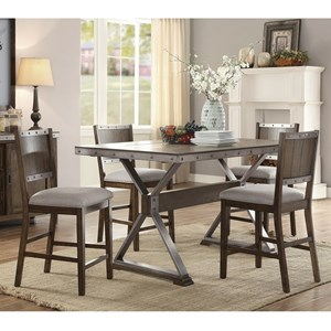 rustic counter height dining set - Rustic Dining Set