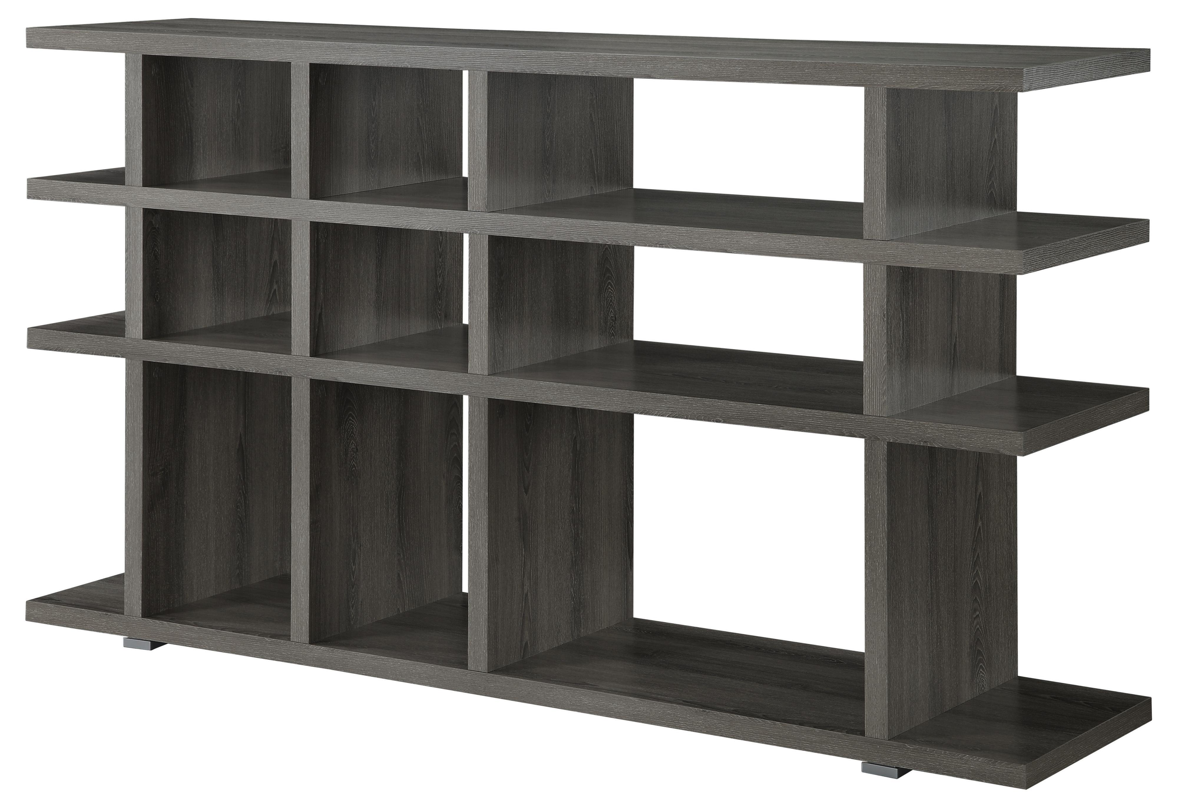 Bookcase (weathered grey)