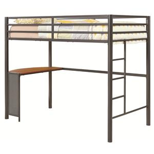 Coaster Bunks Twin Workstation Bed