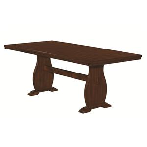 Coaster Campbell Trestle Dining Table