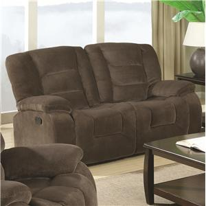 Coaster Charlie Double Reclining Love Seat