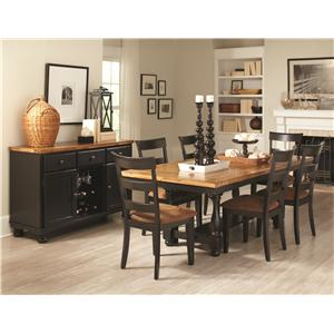 Coaster Charlotte Casual Dining Room Group