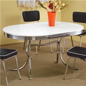 Coaster Cleveland Oval Dining Table