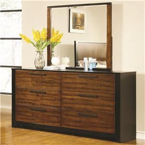Coaster Coronado Dresser & Mirror Set