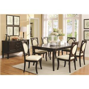 Coaster Crest Hill Dining Room Group