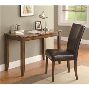 Coaster Desks 2-Piece Writing Table & Chair Set
