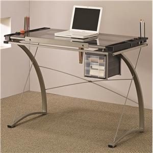 Coaster Desks Artist Table Desk